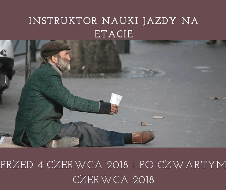 Instruktor 4 czerwca 2018 zdajtesty.pl